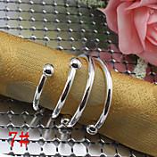 PC 1 anillo de servilleta rectangular de hierro