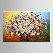 Pintada a mano Paisaje / Naturaleza muerta / Floral/BotánicoModern Un Panel Lienzos Pintura al óleo pintada a colgar For Decoración