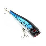 ハードベイト / ルアー フィッシング-1 個 ブラック / シルバー / ファントム プラスチック-N/A 海釣り / ルアー釣り / 一般的な釣り
