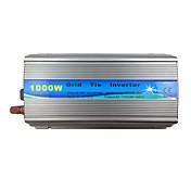 1000w 30v / 36v función MPPT del inversor de conexión a red entrada en el panel de salida de 60 72 células pura 110v onda sinusoidal en el