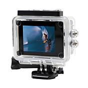 SDV-105 Cámara acción / Cámara deporte 12MP 640 x 480 1920 x 1080 WIFI Impermeable LCD inclinable Anti golpe 2 CMOS 32 GB H.264 30 M