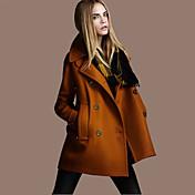 WOMEN - ビンテージ - コート&ジャケット ( ポリエステル Vネック - 長袖