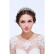 Mulheres Prata de Lei Liga Capacete-Casamento Ocasião Especial Casual Tiaras 1 Peça
