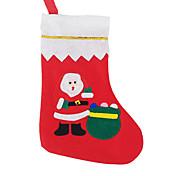 2015クリスマス大きなアップリケの靴下を販売