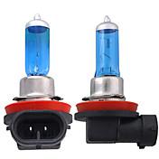 2×H11白ヘッドライト電球ランプヘッドライト5000Kの55ワット