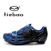 Tiebao Sko til landevejscykling Cykelsko Herre Anti-glide Åndbar Udendørs Bjerg Cykling PVC-læder Åndbar Blanding Latex PVCCykling