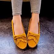 Ženske cipele - Ravne cipele - Aktivnosti u prirodi / Ležerne prilike - Umjetna koža - Ravna potpetica - Udobne cipele / Zaobljene cipele