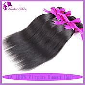 Tejidos Humanos Cabello Cabello Peruano Recto 6 Meses 1 Pieza los tejidos de pelo