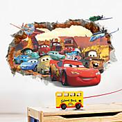 Tvary / 3D Samolepky na zeď Samolepky na stěnu,PVC 50*70cm