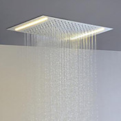 省エネと現在の浴室のレインシャワーヘッドを交互にステンレス鋼304 110V〜220Vはランプを導いた