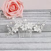 Ženy Perla Přílba-Svatba Zvláštní příležitost Neformální Kancelář a kariéra Outdoor Hřebeny na vlasy Jeden díl