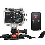F21 Cámara acción / Cámara deporte 5MP 3264 x 2448 WIFI / detección de sonrisas / Anti golpe 4X CMOS 32 GB H.264 50 MEscalada / Universal