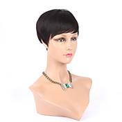 黒人女性アフリカ系アメリカ人の有名人のかつら熱い販売のための新しいピクシー・カット安い人間の髪の毛のかつらリアーナ、ブラックショートカットウィッグ