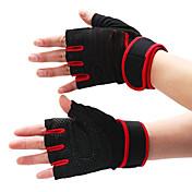 najlon polu prst rukavice za bodybuilding