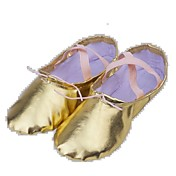 Zapatos de baile(Negro / Blanco) -Ballet-No Personalizables-Tacón Plano