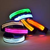 Cuello Luces LED Ajustable/Retractable Nailon