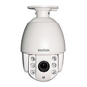 hosafe 4x x2msd1 c-2 MP con zoom de alcance 1080p poe cámara domo IP PTZ de mini automóvil de velocidad w / 6 Aray llevó cable de red