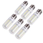 15W E14 / E26/E27 LEDコーン型電球 T 56 SMD 5730 1350 lm 温白色 / クールホワイト 装飾用 交流220から240 / AC 110-130 V 6個
