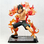 One Piece Ace PVC 13CM Anime Čísla akce Stavebnice Doll Toy