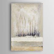mano óleo pintado pintura abstracta acromático abstracta con el marco estirado Arts® 7 de pared