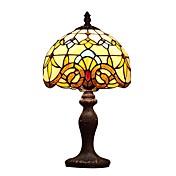 40W Tiffany Lámparas de Mesa , Característica para Protección Ocular , con Pintura Utilizar Interruptor On/Off Cambiar