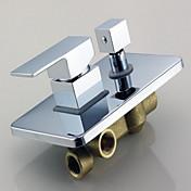 シャワー水栓 - 現代風 真鍮 (クロム)