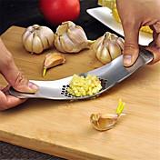 1 Cocina creativa Gadget / Easy Cut / Multifunción / Agarre práctico Acero inoxidable Herramientas para el Ajo