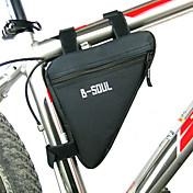 B-SOUL Bolsa de BicicletaBolsa para Quadro de BicicletaZíper á Prova-de-Água Á Prova de Humidade Camurça de Vaca á Prova-de-Choque
