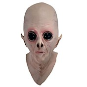 怖いシリコーンフェイスマスクエイリアンUFO地球外のパーティーハロウィーンパーティーのおもちゃのための他のホラーゴムラテックスフルマスク