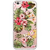 Para iPhone X iPhone 8 iPhone 6 iPhone 6 Plus Carcasa Funda Diseños Cubierta Trasera Funda Flor Dura Policarbonato para Apple iPhone X