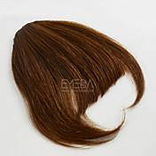 encantadora pinza de pelo explosión humana en flequillo extensiones marginales 30g / pcs parte libre explosión natural del pelo humano 2