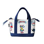 flor Princess® Mujer Lienzo Bolso de Mano Azul-1604QS03