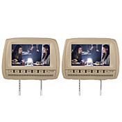 "9"" Car Headrest DVD Player Support FM Transmitter Wireless Game(1 Pair)"