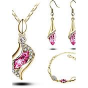 Joyas Collares / Pendientes / PulseraCollar / pulsera / Collar / pendientes / Pendientes / pulsera / Los sistemas nupciales de la joyería