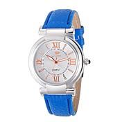 Mujer Reloj de Moda Reloj de Pulsera Cuarzo / La imitación de diamante Piel Banda Cosecha Cool Casual Negro Blanco Azul RojoBlanco Negro