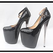 Žene Cipele na petu Proljeće / Ljeto / Jesen PU Formalne prilike / Ležerne prilike / Zabava i večer Stiletto potpetica DrugoCrna /