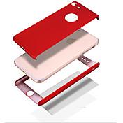 のために 耐衝撃 / Other ケース フルボディー ケース ソリッドカラー ハード PC Apple iPhone 7プラス / iPhone 7 / iPhone 6s Plus/6 Plus / iPhone 6s/6 / iPhone SE/5s/5