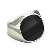 Prstenje sa stavom Sapphire Dragi kamen Prirodna crna Dragi kamen Legura Moda Vintage Punk stil Simple Style Pink Zlatan JewelryDnevno