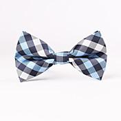 Muž Bavlna / Směs bavlny / Polyester Vintage / Party / Pracovní / Na běžné nošení Motýlek,Jednobarevné Červená