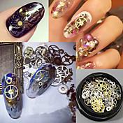 120pcs Nail Art ukras rhinestone biseri šminka Kozmetički Nail art dizajn