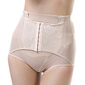 Para Mujer Sexy Un Color Boxers Cortos Panti Modelador,Nailon / Espándex