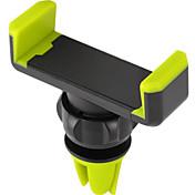 Montaje para Soporte de Teléfono Coche Ventilación Rotación 360º ABS for Teléfono Móvil