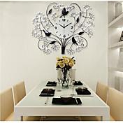コンテンポラリー ハウス型 壁時計,その他 アクリル / ガラス / メタル 70*56cm 屋内 クロック