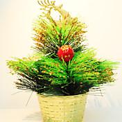 Mini navidad adornos de árbol alces