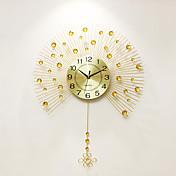 Moderno/Contemporáneo Casas Reloj de pared,Otros Acrílico / Aluminio / Metal 60*80cm Interior Reloj