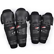 膝用サポーター / 太ももブレース / 肘用サポーター スキー用プロテクター 保護 / マッスルサポート スキー / スノースポーツ / クロスカントリー / スノーボード / ダウンヒル / レーシングボート ユニセックス PE / スパンデックス 黒フェードカジュアル