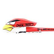 X380 Partes y Accesorios Helicópteros RC Rojo 1 Pieza