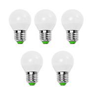 5w e14 / e26 / e27 ledグローブ電球g45 12 smd 2835 450 lm暖かい白/涼しい白装飾v 5個