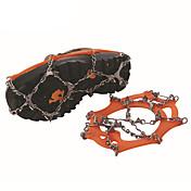 Dvanaest zubi od nehrđajućeg čelika za zavarivanje proklizavanja cipela rukav crampons / snijeg na otvorenom dvanaest nazubljene crampons