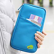 1 pieza Monedero de Viaje Billetera y Cartera Impermeable A prueba de polvo Portable Múltiples Funciones para Almacenamiento para Viaje